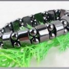 Black Magnetic Physical Therapy Men's Bracelet Elastic  free shipping