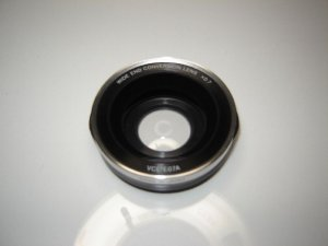 Sony VCL-E07A 0.7x Handycam Wide Angel Conversion Lens for for 25,30,37mm 0.7X