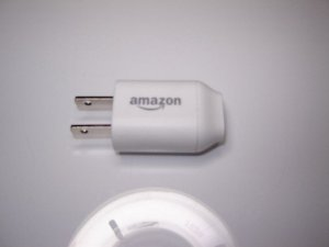 Genuine Amazon A00810-01 Kindle Touch USB Plug Outlet Charger White
