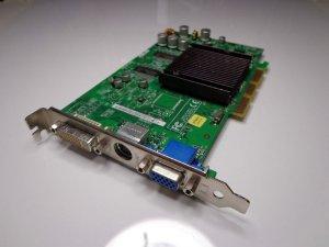 HP 5187-3703 Asus V9520/128M GEFORCE FX5200 128MB DVI VGA S-Video AGP Graphics Card