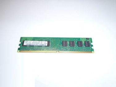 Dell Optiplex 745 755 Samsung 1GB 1Rx8 PC2-5300U M378T2863DZS-CE6 667MHz DDR2 PC Ram Memory