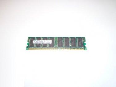 Samsung 512MB M368L6523CUS-CCC DDR 400mhz 184-Pin PC3200U - 30331-Z CL3 Memory