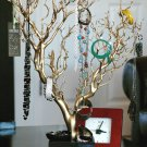 """30"""" Gold Painted Jewelry Tree"""