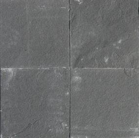 Slate Tile 16x16 Black Polished