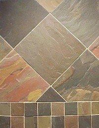 Slate Tile 8x16 Multi Select Polished
