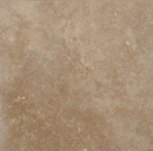 Travertine Tile 18x18 Tuscany Walnut Polished