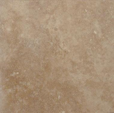 Travertine Tile 24x24 Tuscany Walnut Polished