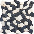 Pebbles 16x16 FLAT - MIXED GRANITE