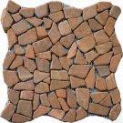 Pebbles 16x16 FLAT - TAN MARBLE