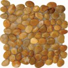 Pebbles 12X12 POLISHED YELLOW MARBLE