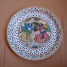 P043-FILIGREE PAINTED PLATE-9
