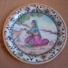 Article P057-PAINTED PLATE-6 INCHES