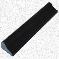 Granite Edge Piece 12x2x1.34  ABSOLUTE BLACK MARTEL