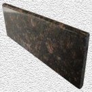 Granite Edge Piece 12x4x3/8 TAN BROWN BULLNOSE