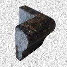 Granite Edge Piece 3x2x1.34 TAN BROWN MARTEL OUT CORNER