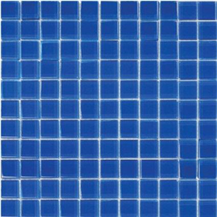 Mosaics 1X1 GLASS BLUE (Crystallized Blend) 12x12