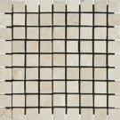 Mosaics 1X1 MARBLE CREMA MARFIL (Tumbled) 12x12
