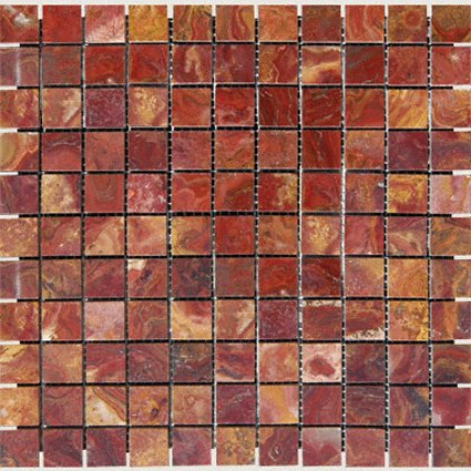 Mosaics 1X1 ONYX RED ONYX (Polished) 12x12