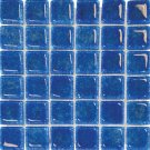 Mosaics 2X2 GLASS AG BLUE (Bubble Glass) 12x12