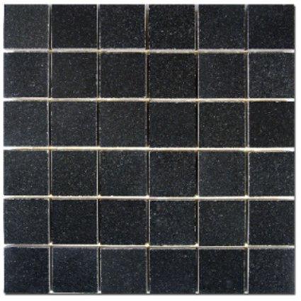 Mosaics 2x2 Granite Absolute Black Polished 12x12