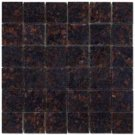Mosaics 2X2 GRANITE TAN BROWN (Polished) 12x12