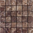 Mosaics 2X2 MARBLE EMPERADOR DARK (Tumbled) 12x12