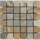 Mosaics 2X2 SLATE AUTUMN (Tumbled) 12x12