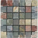 Mosaics 2X2 SLATE MULTI SELECT (Tumbled) 12x12