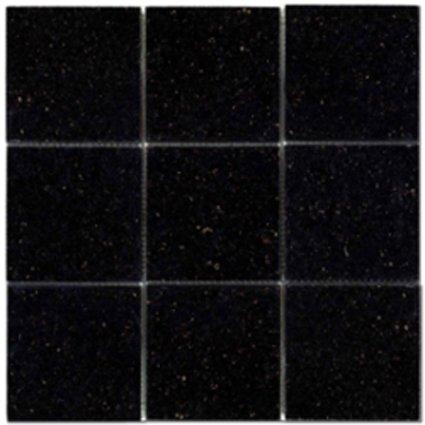 Mosaic 4X4 GRANITE BLACK GALAXY (Polished) 12x12