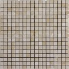 Mosaic 5/8 MARBLE CREMA MARFIL (POLISHED) 12X12