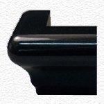Granite Edge Piece 3x2x1.34 ABSOLUTE BLACK MARTEL OUT CORNER