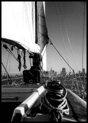 Sailing SanFrancisco Bay
