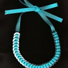 Washer Necklace - Turquoise