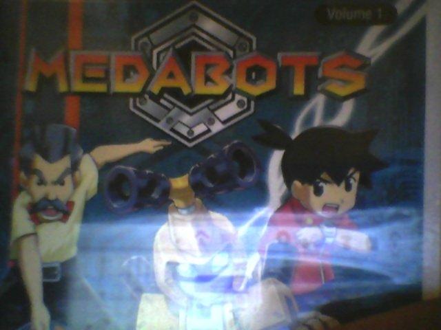 Medabots Vol 1: Transport Metabee( BRAND NEW FAC. SEAL)