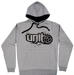 Size XL - Unit Riders MX Shred Gray Pullover Hooded Sweatshirt Hoodie Hoody - XL