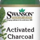 Swanson Premium Activated Charcoal 260 mg 120 capsules