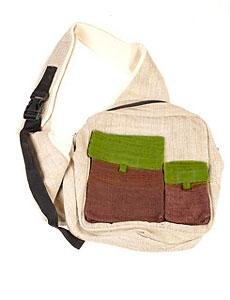 Hemp Side Backpack w/ Box Pocket