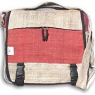 Hemp Document Bag - Large - Red