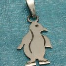 Sterling Silver Small Penguin Pendant .925 Taxco Mexico