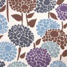 Peony Dark 1.5 M ~ Boden Cotton Canvas Fabric