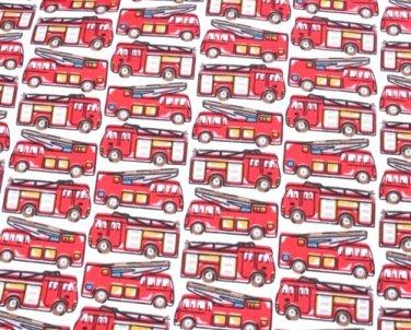 Fire Engine 1 M ~ Cath Kidston Haberdashery Fabric