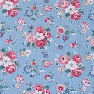 Forest Bunch Blue Cotton Duck 1 M ~ Cath Kidston