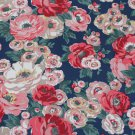 Worth Bunch Navy Cotton Duck 1 M ~ Cath Kidston