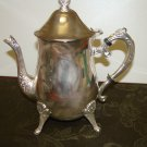 Silver plated coffe and tea set