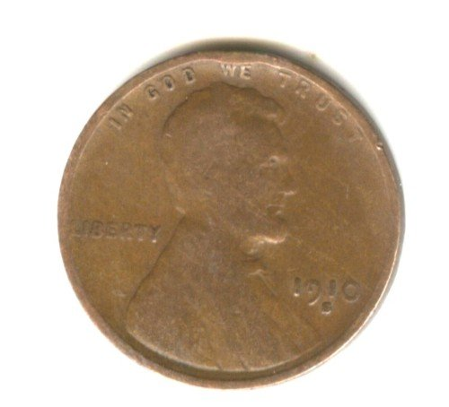 1910S (VG) LINCOLN PENNY (W152)