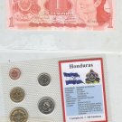 HONDURAS UNCIRCULATED CURRENCY AND COINAGE COLLECTION