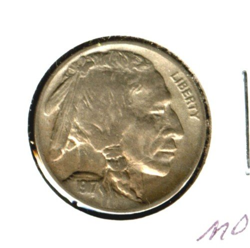 1917 (XF+) BUFFALO NICKEL (M06) FULL HORN