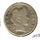 1898S (VG+) BARBER HALF DOLLAR (M08) SILVER