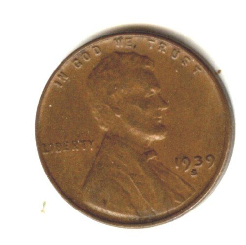 1939S (XF) LINCOLN PENNY (EB1469)