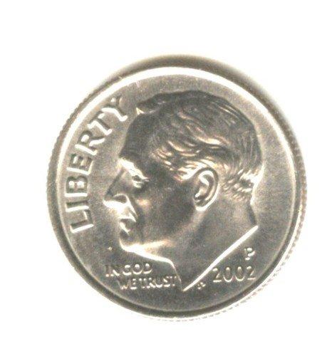 2002 P BU Roosevelt Dime US Coin (EB1464)